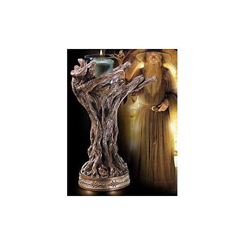 The Noble Collection Il Personale di Gandalf Il portabandiera votiva Grigio