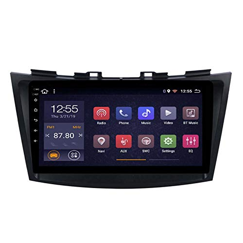 Android 8.1 Radio De Automóvil para Suzuki Swift 2010-2016 Coche Estéreo GPS Navegación Táctil Pantalla Player Doble DIN Head Unit Support WiFi Volante Control(Color:4G+WiFi:1+16G)