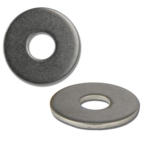 PROTECH - Arandelas grandes DIN 9021 de acero inoxidable A2 V2A