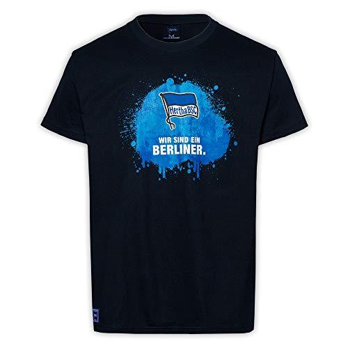 Hertha BSC Berlin T-Shirt Shirt Wir sind EIN Berliner Gr. 3XL