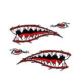 BESPORTBLE Calcomanías de Pared de Tiburón de Vivero Animales Etiqueta de La Pared Pelar Y Pegar Decoración de La Etiqueta Engomada del Arte de La Pared para Kayak Coche Barco
