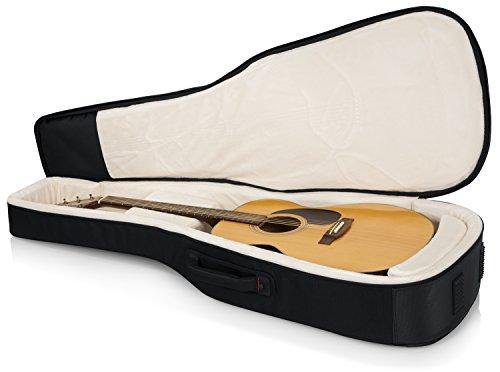 Gator Cases Pro-Go Ultimate Guitar Gig Bag; Fits Acoustic Guitars (G-PG ACOUSTIC) , Black