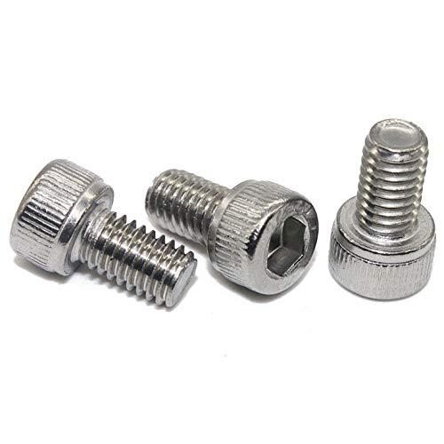 Zylinderschrauben mit Innensechskant - M4x12 - (100 Stück) - DIN 912 (ISO 4762) Zylinderkopfschrauben Edelstahl A2 V2A