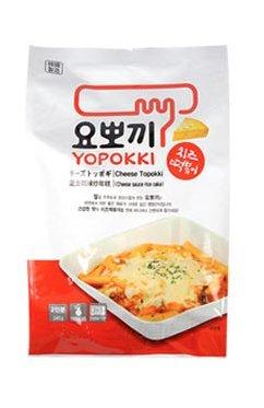 Piatto di torta di riso tradizionale coreano (ddukbokki) Una confezione include 2 porzioni Pronto in pochi minuti Prodotto della Corea del sud