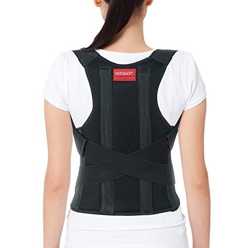 ORTONYX Cómodo Corrector de Postura Soporte de Espalda para Clavícula y Hombro, Totalmente Ajustable para Hombres y Mujeres / 656A-XS