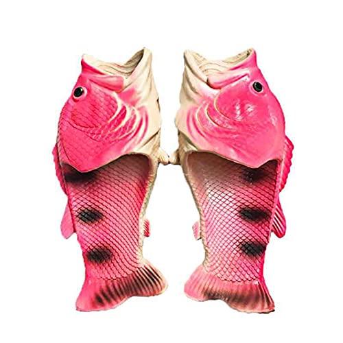 Xu Yuan Jia-Shop Divertidos Zapatillas de Peces creativos Unisex Zapatillas de Animales Zapatillas de Pescado Animal  Sandalias Casuales y Zapatillas Tamaño 36 a 47 (Color : Color 8, Shoe Size : 39)