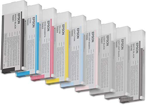 Epson UltraChrome K3 Ink Cartridge - 220ml Matte Black (T614800)