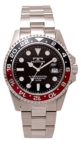 [テクノス] 腕時計 T4B20SB メンズ シルバー