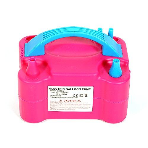 flyelf 600W inflador balón eléctrica bomba portátil rosa Francia Stock