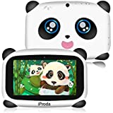 iProda Kids Tablet, 7 inch HD Display Android 9.0, Panda Toddler Tablet with 2GB RAM & 16GB ROM, Educational Games, Parental Controls, Best Gift for Kids