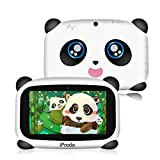 iProda Kids Tablet, 7-Zoll-HD-Display Android 9.0, Panda Toddler Tablet mit 2 GB RAM und 16 GB ROM, Lernspiele, Kindersicherung, Kinder