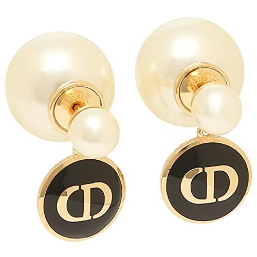 [クリスチャンディオール]ピアス アクセサリー ディオール トライバル ゴールド ブラック レディース Christian Dior E1587 TRILQ 307 [並行輸入品]