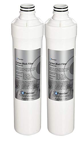 IPW Industries Inc Pack of 2 Watts 105381 Premier WP105381 RO Pure Plus VOC Filter; Silver