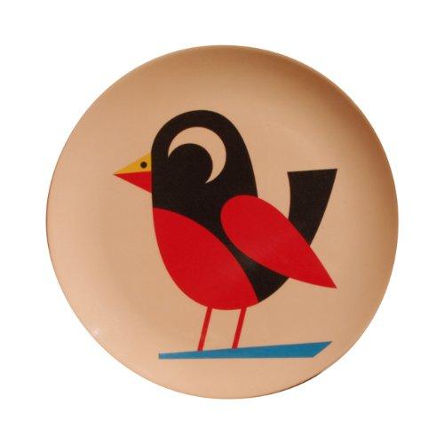 OMM-design Ingela P Arrhenius (インゲラ・アリアニウス) メラミンプレート (Bird/バード)