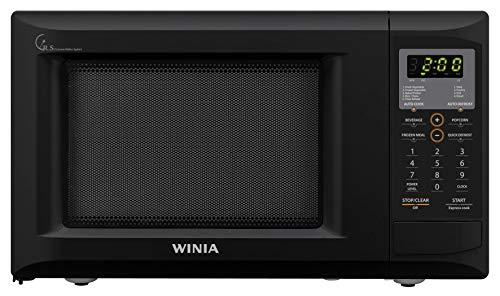WINIA WKORX9GDEB Countertop Microwave Oven, 0.9 CF, Black