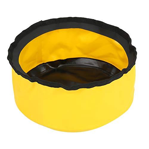 Yagosodee Cubo de Lavado Al Aire Libre del Lavabo Plegable Portátil del PVC 5L para Acampar Que Va de Excursión Picnic