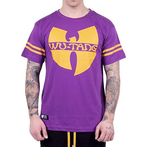 Wu Wear Wu 36 T-Shirt, Camiseta, Moda Callejera Urban, Hip Hop, Hombres, Violet Tamaño M, Color Purple