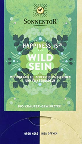 Sonnentor Bio Wild sein Tee Happiness is (1 x 27 g)
