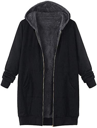 KTZAJO 2021 el último invierno mujeres solapa chinchilla abrigo de peluche, moda manga larga caqui mullido chaqueta con bolsillos