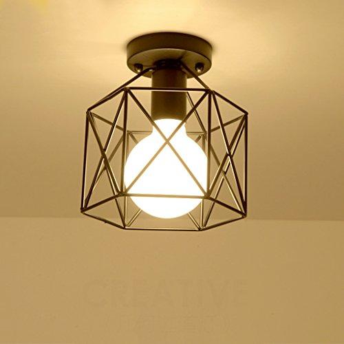 Lumières de couloir Lumières de couloir Lumière de plafond Luminaire d'entrée (style : A)