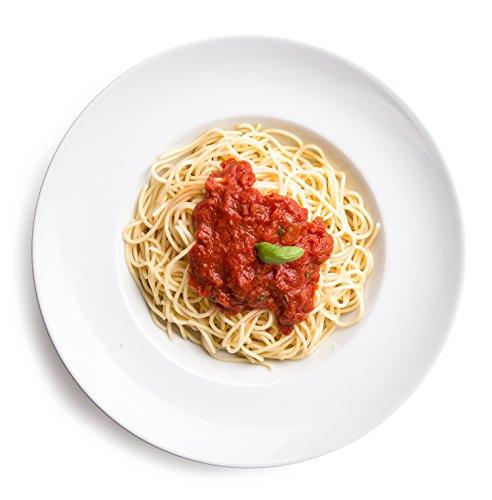 6 x Ø 30 cm Pastateller / Salatteller / Porzellanteller / Nudelteller / Suppenteller | Tiefe 6,2 cm