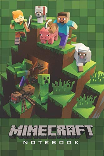 """Minecraft Notebook: Minecraft Notebook, Sketchbook, Diary, Journal, For Kids, For A Gift, To School 