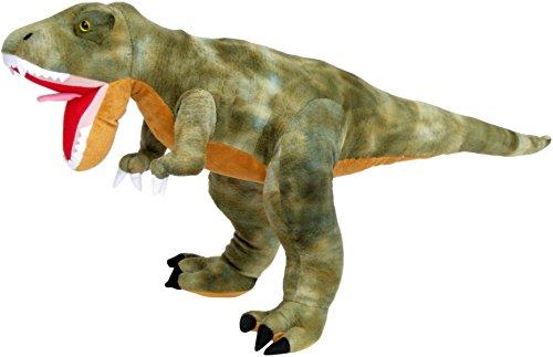 Wagner 4511 - Plüschtier Dinosaurier Tyrannosaurus Rex - 50 cm Gross - Dino T-Rex Kuscheltier