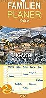 Lugano - Perle im Tessin - Familienplaner hoch (Wandkalender 2022 , 21 cm x 45 cm, hoch): Impressionen aus der Stadt am Luganer See (Monatskalender, 14 Seiten )
