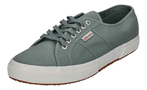 Superga Superga Unisex 2750 Cotu Classic Sneaker, Grey Sage, 49 EU