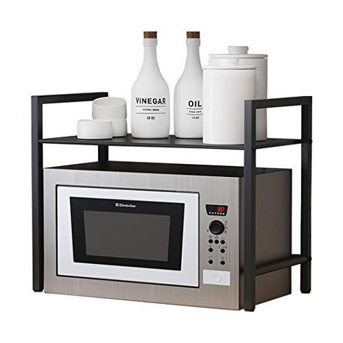 Estante de cocina multifunción, estante de microondas para cocina, estante doble para horno doméstico, estante de arroz, estante de almacenamiento de condimentos