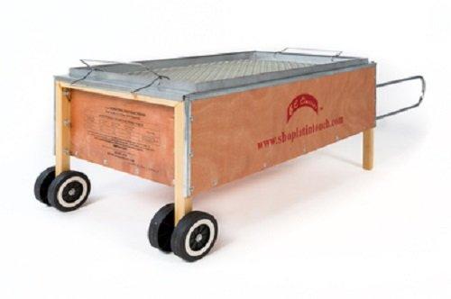 BC Classics Bene Casa Caja asadora Große Pit Grill tragbar Pig Bräter