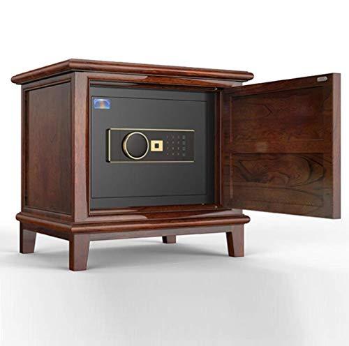 NewbieBoom Caja de Seguridad Digital, 58 x 45 x 54 cm, Caja Fuerte de Acero electrónico con 2 Teclas de Ayuda de Mano para casa, Negocios o Viajes