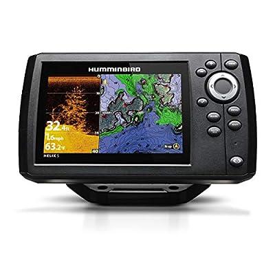 Humminbird 410220-1NAV HELIX 5 CHIRP DI (Down Imaging) GPS G2 NAV Fish Finder