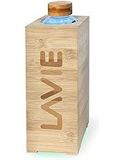 LaVie Premium - Purificateur d'eau Bambou Innovant à lumière UVA, sans Consommable. Transformez Votre Eau du Robinet en Eau Pure, Douce et Délicieuse en 15 MN - Capacité 1 L