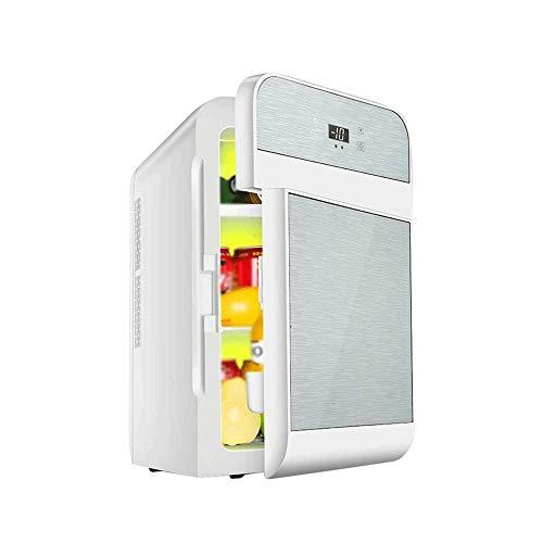 Sdesign La absorción Mini Nevera congelador de 20 litros |AC |DC |12v |220v |para Acampar, Viajes, días de Campo |Coches, autocaravanas, Autocaravana, Caravana (Color : Space Silver)