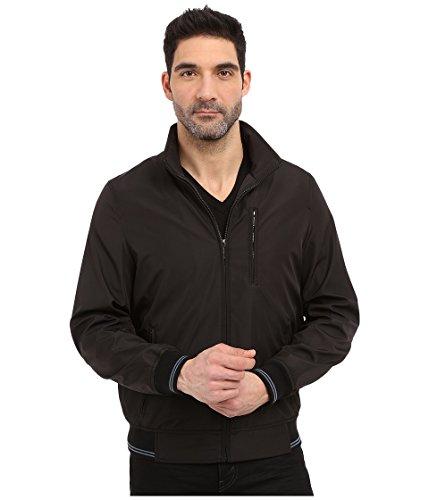 Perry Ellis Men's Bonded Jacket, Black, XX-Large