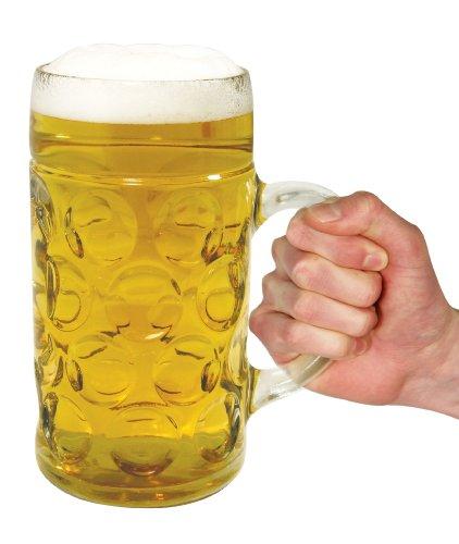 Gentlemen's club chope bière géante en verre