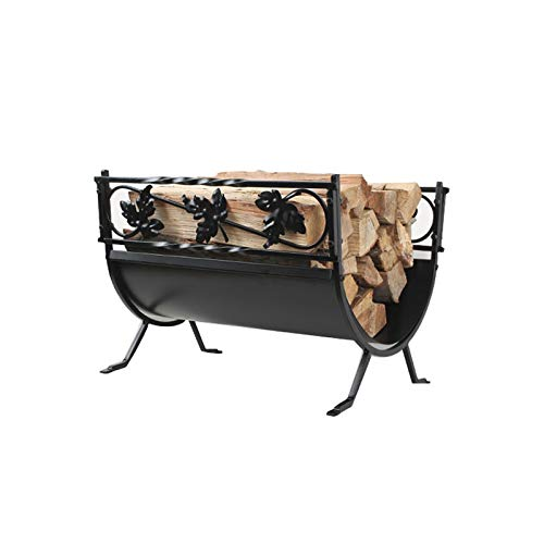 Find Cheap Fireplace Log Holder Outdoor Log Rack European Wrought Iron Fireplace Firewood Frame Fire...