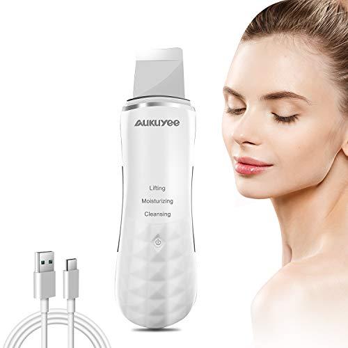 AUKUYEE Dispositivo Ultrasónico de Limpieza de la Piel Facial Derma S