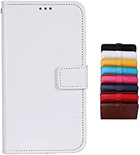 BRAND SET Case for Vodafone Smart N10 Case Wallet style faux leather flip Case with Secure Magnetic Closure Lock and brack...
