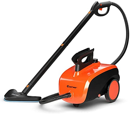 COSTWAY Multipurpose Steam Cleaner with 19...