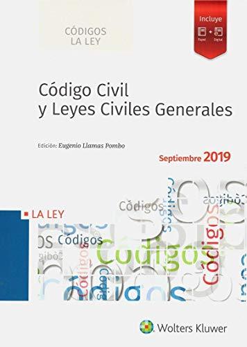 Código Civil y Leyes Civiles Generales (Edición 2019) (Códigos La Ley)
