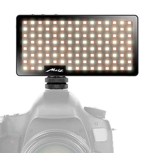 Metz mecalight S500, LED-Videoleuchte für Video & Fotografie im Smartphone-Format, SMD-Hochleistungs mit bis zu 1000 Lumen, Bi-Color (3000 bis 5500 K)