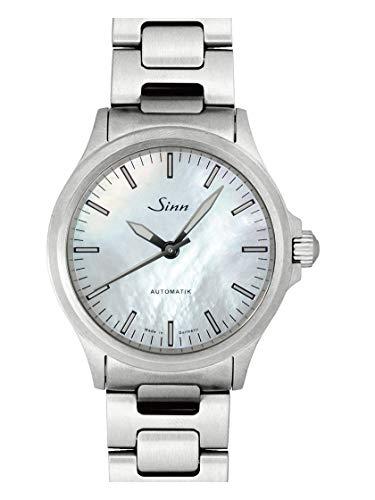[ジン] Sinn 腕時計 BR01 556.I.Perlmutt.W 自動巻き メンズ 新品 [並行輸入品]