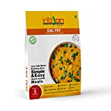 Split Lentil Curry (Dal fry) - Freeze Dried Gluten-Free Gourmet Indian Entree Ready in 5 min Vegan Meal, by The Indian Kitchen Foods Co. - Rehydrated 9.50 oz