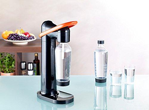 Rosenstein & Söhne Sprudler: Design Trinkwassersprudler WS-160.Soda (Soda Stream Trink-Wasser-Sprudler) - 5