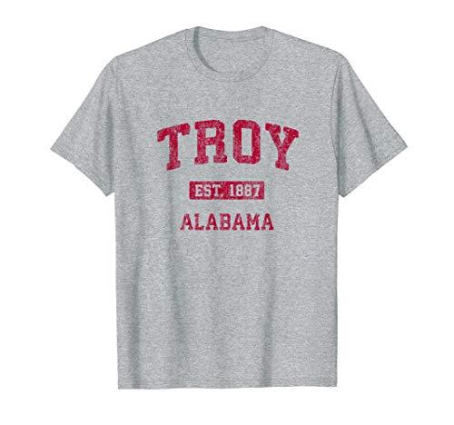 Troy Alabama AL Vintage Athletic Sports Design T-Shirt