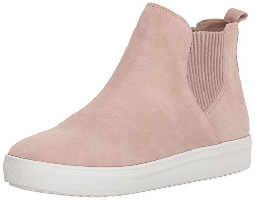 Blondo Women's Gennie Waterproof Sneaker, light pink suede, 6.5 M US
