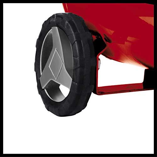 Einhell Compresseur TE-AC 230/24 (Puissance moteur 1500W, Capacité de la cuve : 24 L, Cuve garantie 10 ans contre la corrosion, Niveau d'huile visible)