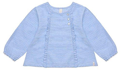 ESPRIT ESPRIT KIDS Baby-Mädchen RL1201102 Bluse, Blau (Light Heather Blue 406), 68